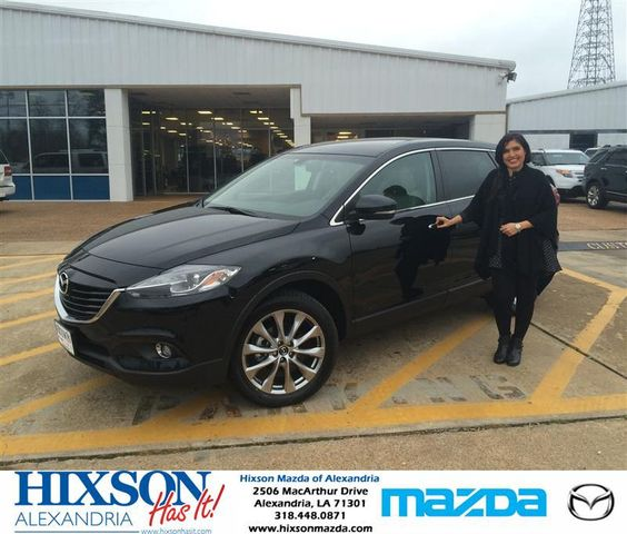Congratulations to Raymond and Shabnam on your #Mazda #CX-9 purchase from Brandon Holloway at Hixson Mazda of Alexandria! #NewCar