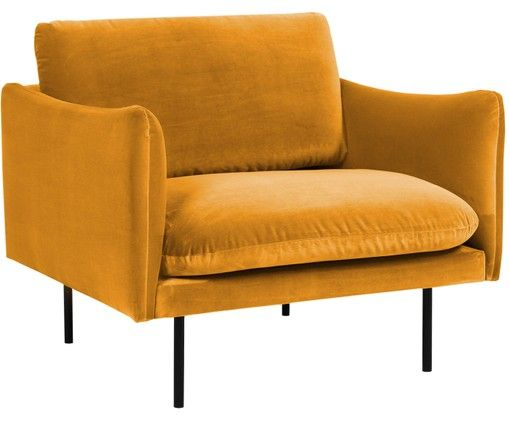 Fotel Z Aksamitu Moby Fauteuil Meubels Stoel Ikea