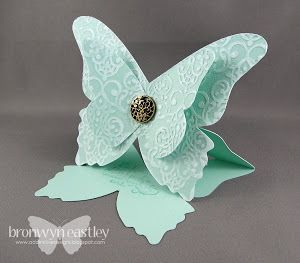 Butterfly Easel Card: