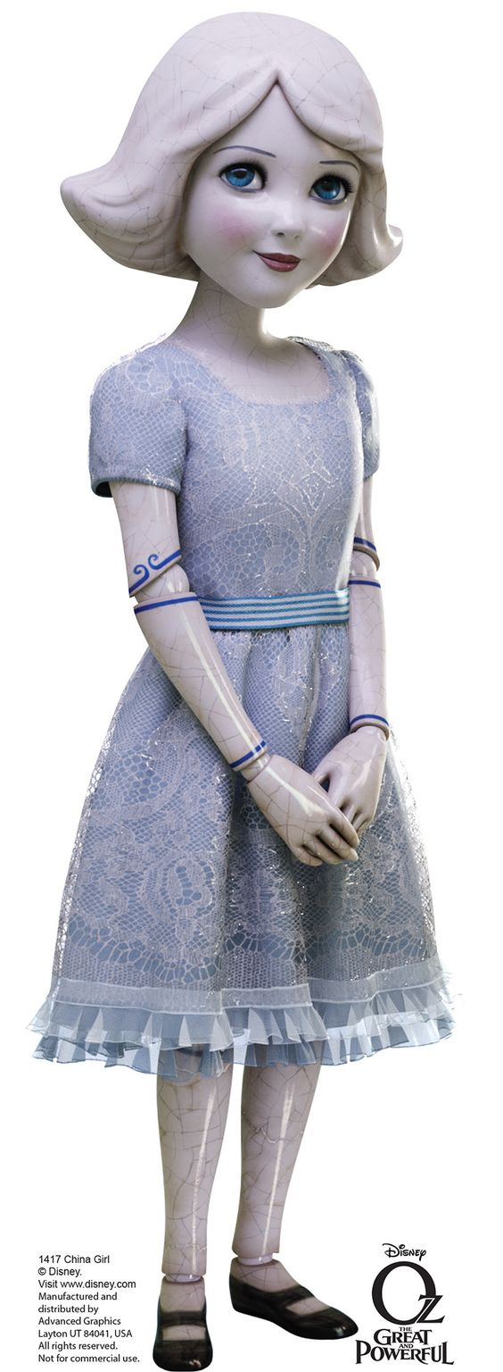 China Girl - Disney's Oz the Great and Powerful Cardboard Standup
