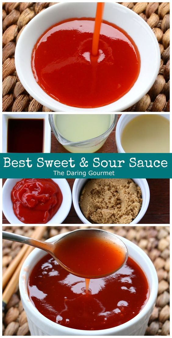 Best Sweet and Sour Sauce