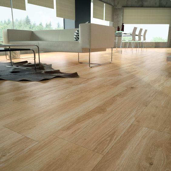 Porcelanico imitacion madera baldosas de gran formato for Mejor suelo laminado