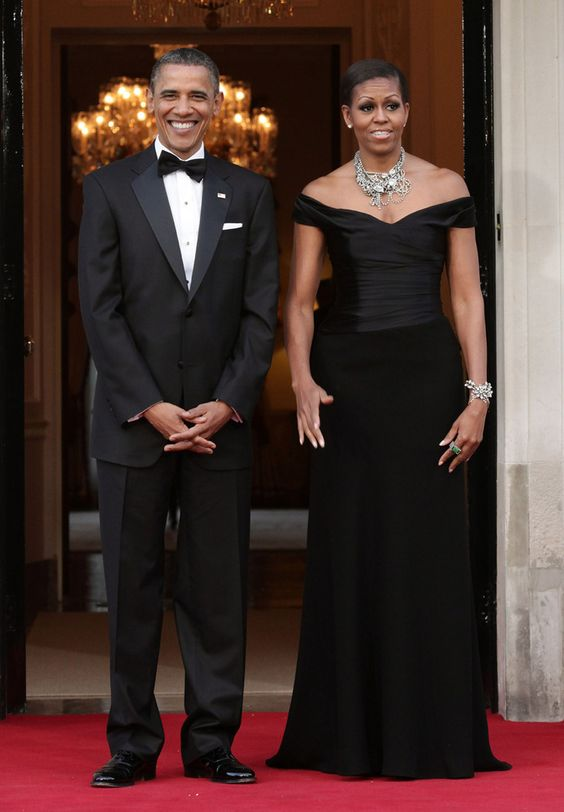 Michelle Obama's Inauguration 2013 Outfit: Thom Browne & J. Crew! (PHOTOS)