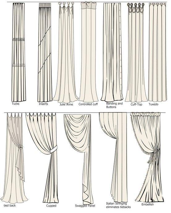 Gardienen | Gardinen | Pinterest | Curtain ideas, Drapery panels