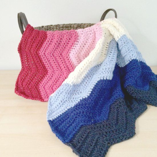 Easy Crochet Patterns For Lap Blankets : Chevron blanket, Lap blanket and Simple crochet on Pinterest
