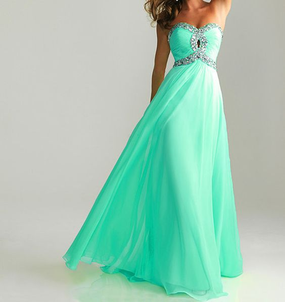 Blue prom dress etsy