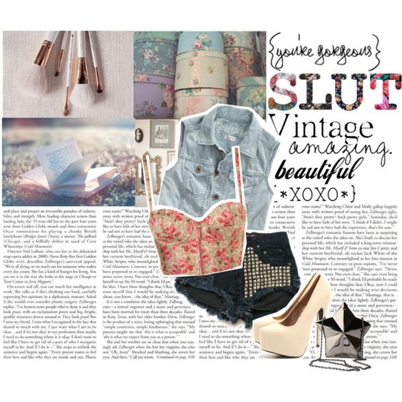 Girly Grunge., created by brightlightsbiggercity on Polyvore