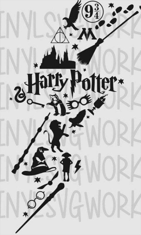Harry Potter Harry Potter Stencils Harry Potter Lightning Bolt Harry Potter Tattoos
