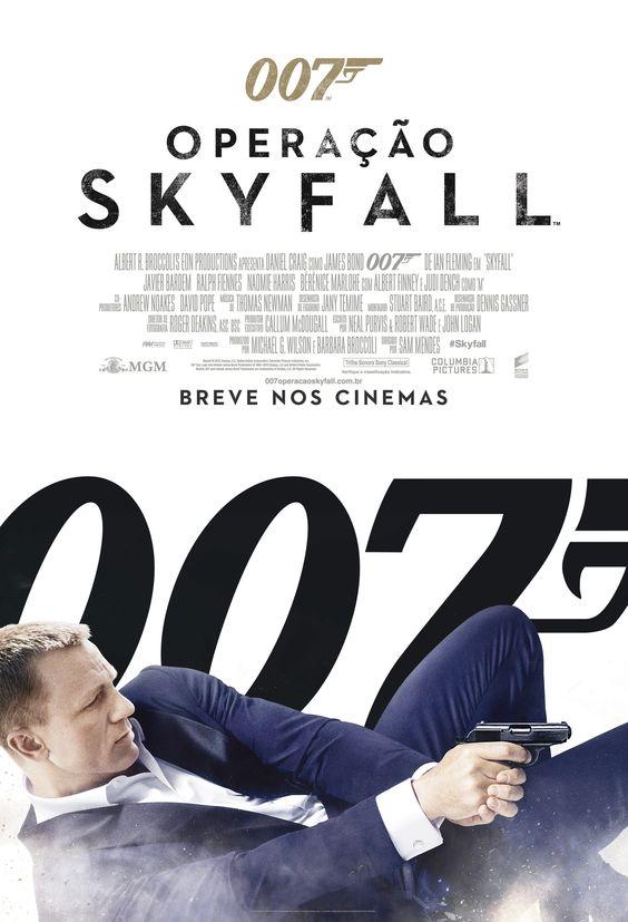 007 - Operação Skyfall (TV / Março)