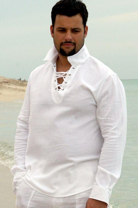Linen Shirts Men 103