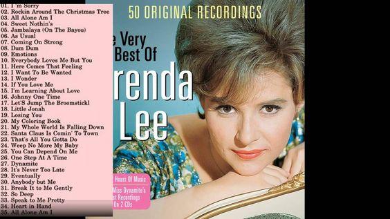 Best Songs Of Brenda Lee || Brenda Lee's Greatest Hits [ Full Album]