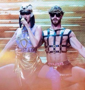 Veja as fotos mais quentes de Lockhart Brownlie, o bailarino gato de Katy Perry - Homens em Lifestyle no A Capa