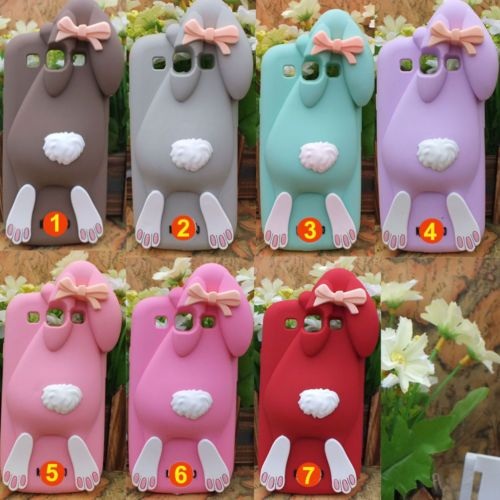 3D Rabbit Bunny Silicone Case Skin for SAMSUNG Galaxy S3 I9300 | eBay