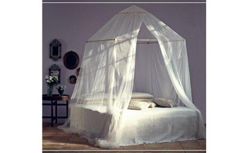 Diy Bed Nets Guest Room