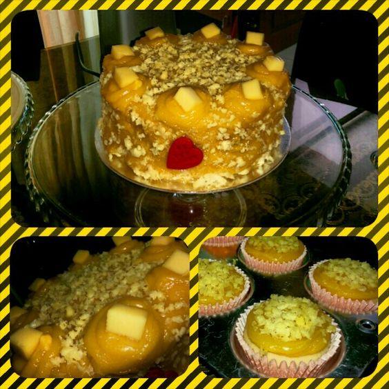 Yema Cake Decor : Cheese overload yema cake by ivy bakes ??????? ...