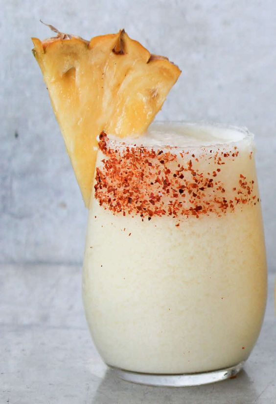 How to Make a Frozen Spicy Pineapple and Coconut Daiquiri Cocktail: