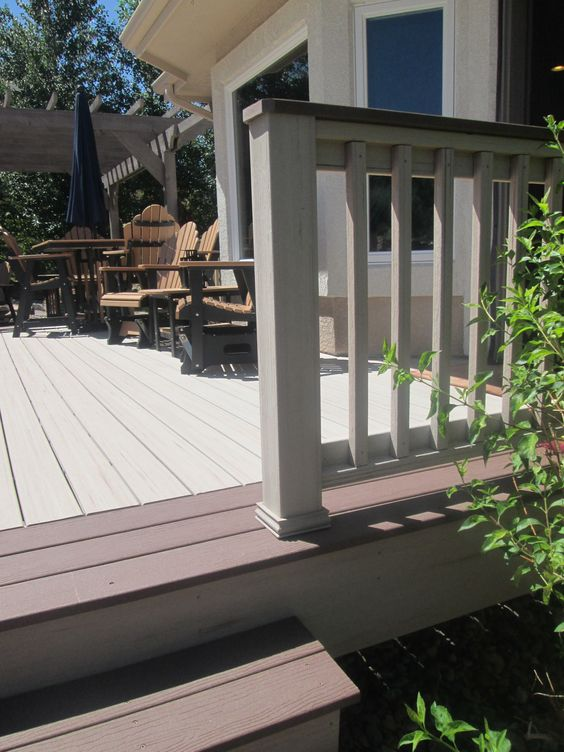 Two-tone deck