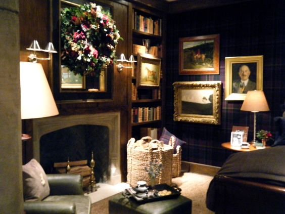 Stunning room like an english pub office pinterest ralph lauren fireplaces and the - Show pics of decorative sitting rooms ...