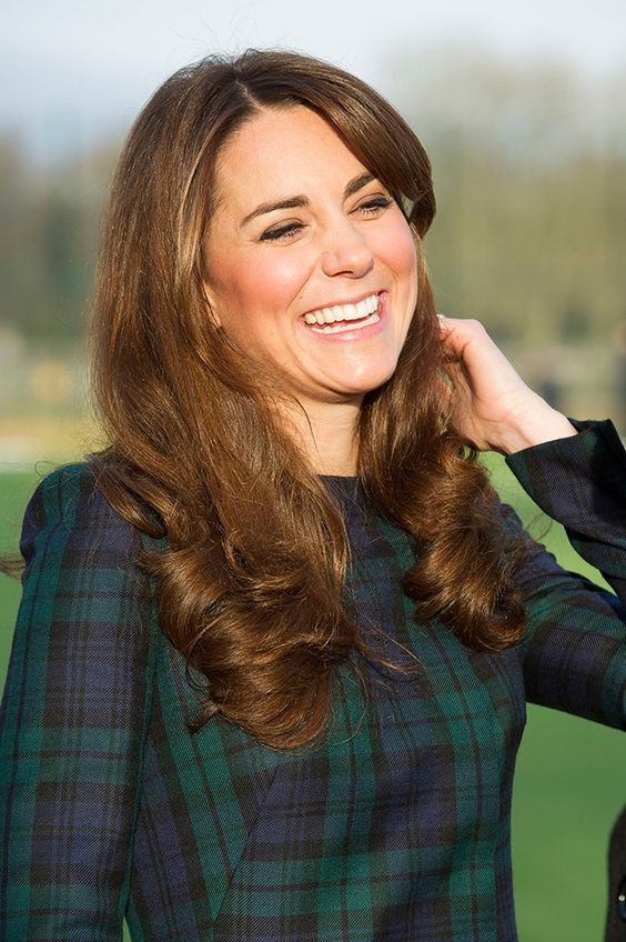 Kate Middleton's curls: