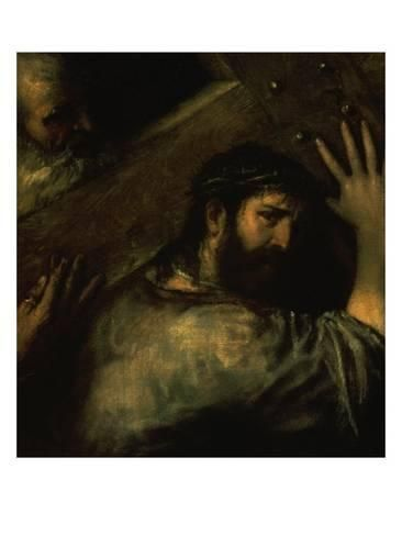 Giclee Print: Christ Carrying the Cross Art Print by Titian (Tiziano Vecelli) : 16x12in