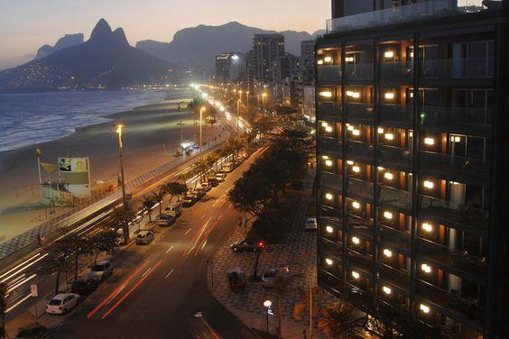 Vista da cidade no Hotel Fasano