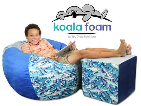 Big Tree Furniture Koala Foam Chair And Cube By Big Tree Furniture Big Tree  Furnitureu0027s Koala Foam Division Is Getting Into The Youth Market Wiu2026 |  Pinteresu2026