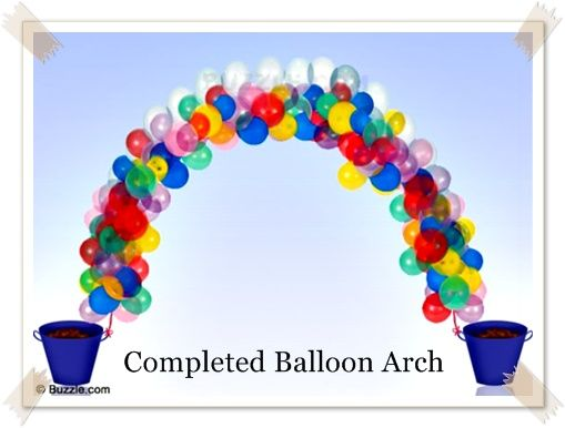 Here 39 s how you can make stunning balloon arches at home for What can you make with balloons