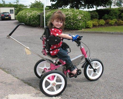 Cutie Holly - great trike!