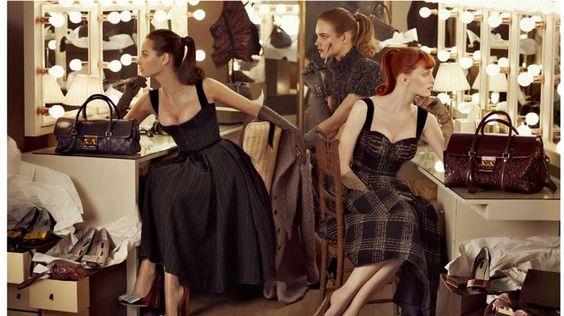 Colección Otoño-Invierno 2010 de Louis Vuitton, inspirada en la serie 'Mad Men'