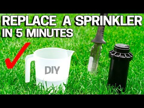 129 Replace Sprinkler Head In 5 Minutes Rainbird Hunter Orbit Youtube In 2020 Sprinkler Heads Sprinkler Hunter Sprinkler Heads