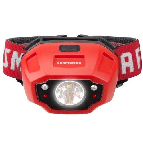 Shop Craftsman 250 Lumen Led Headlamp Battery Included In The Headlamps Section Of Lowes Com Led Headlamp Headlamp Craftsman