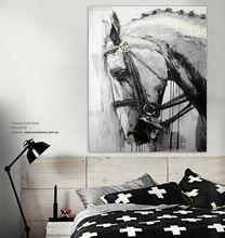 Peinture de cheval noir et blanc achats en ligne, le monde plus grand peinture de cheval noir et blanc commerces de détail plateforme de guidage sur AliExpress.com