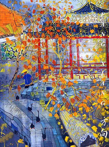 FANG XIANG http://www.widewalls.ch/artist/fang-xiang/ #FangXiang #contemporaryart #paintings:
