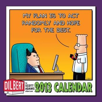 Dilbert 2013 Mini Wall Calendar
