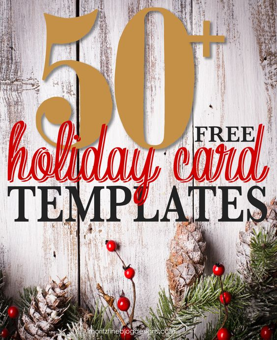 50 Free Holiday Photo Card Templates Christmas Card Templates Free Free Holiday Photo Card Templates Christmas Photo Card Template