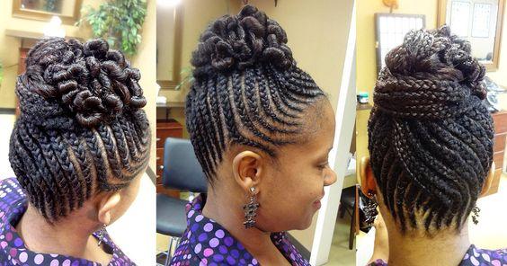 Natural Hair & Braid Styles