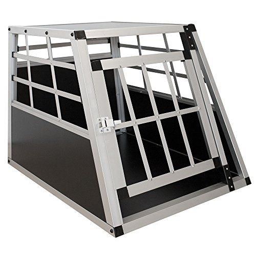 Amazon Sam S Pet Aluminium Hundetransportbox Grosse M Schwar 04260304765593 Hundetransportbox Hundebox Aluminium