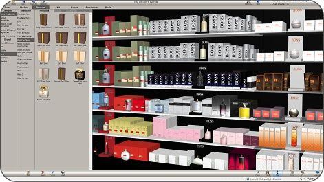 Planogram example store design pinterest to be for Retail store layout software