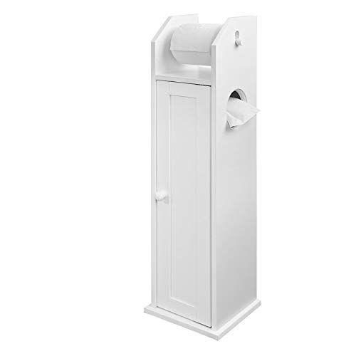 Armoire De Rangement Pour Wc Support Pour Papier Toilette En 2020 Avec Images Armoire Rangement