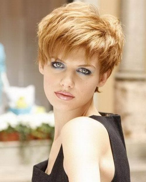 Enjoyable Thick Hair Hair And Cut And Color On Pinterest Short Hairstyles Gunalazisus