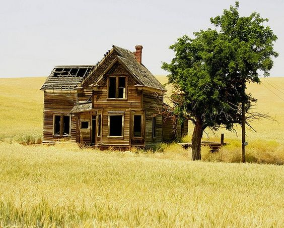 Abandoned House, Oregon