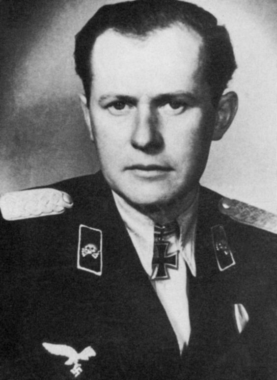 Hermann Goering Ww2 Major Hahm, commander ...