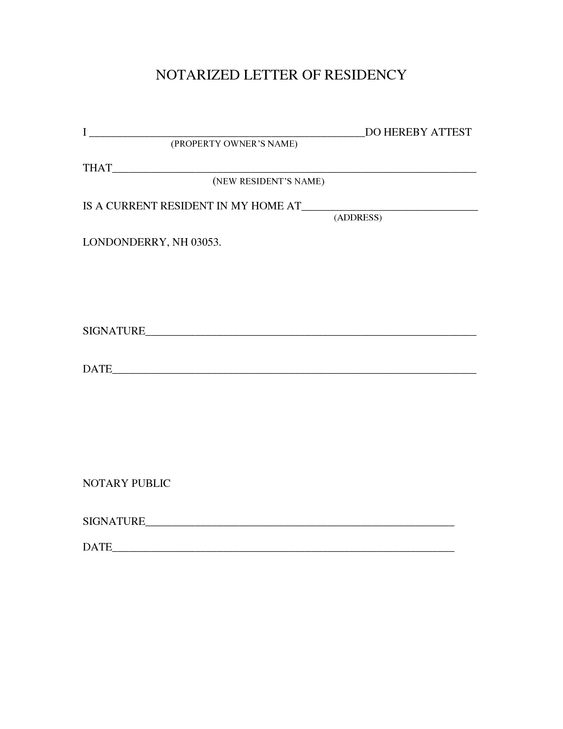 sample notarized letter template | Projects to Try | Pinterest ...