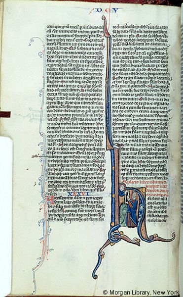 Bible, MS M.295 fol. 85v - Images from Medieval and Renaissance Manuscripts - The Morgan Library & Museum
