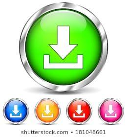 Image Vectorielle De Stock De Download Button Web Icon Set Illustration 1381434518 Jeux Pc Gratuit Telechargement De Musique Telechargements Gratuits De Films
