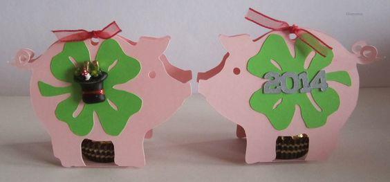 Glücksschwein-Parade