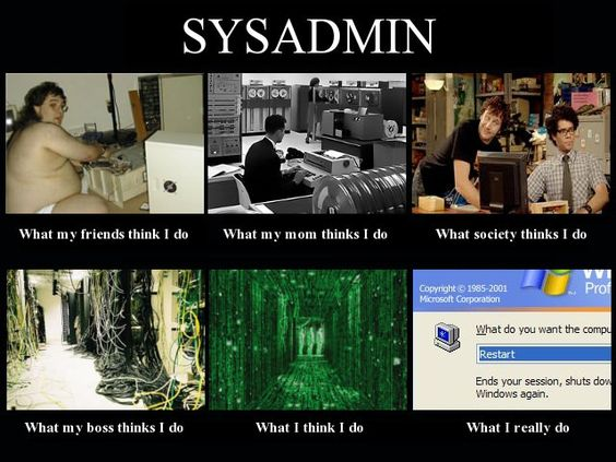 System Admin… | ImgLuLz - Funny Pictures, MEME, LOL and ...