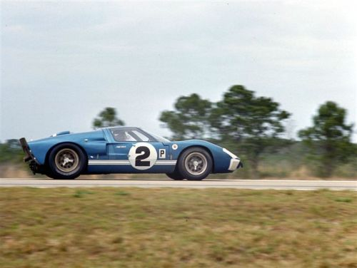Sebring March 26 1966  The Shelby American Ford GT Mk II