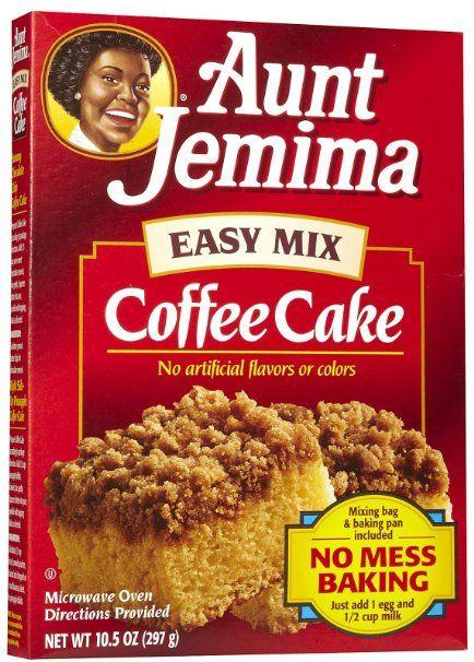 Breakfast cake mix recipes