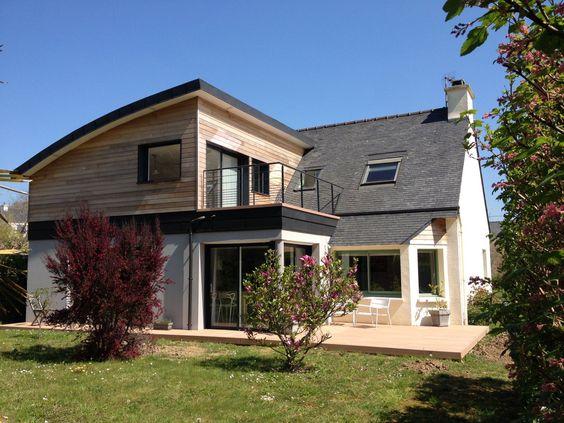 Extension agrandissement maison guipavas finistere for Agrandissement maison